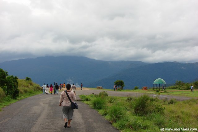 Walk at the popular hill station