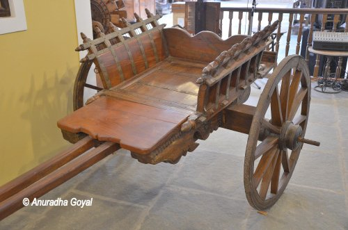 A carriage from Kerala
