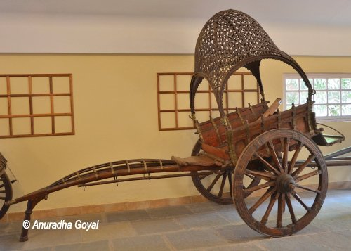 Horse Cart from the Royal state of Rajasthan at Goa Chakra