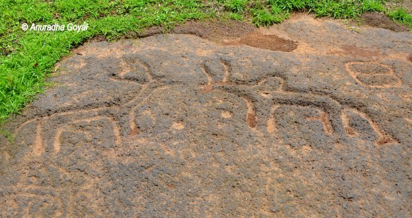 The pre historic rock art at pansoimol south goa inditales