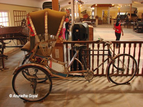 UP's Rickshaw that you can still see in most North Indian towns