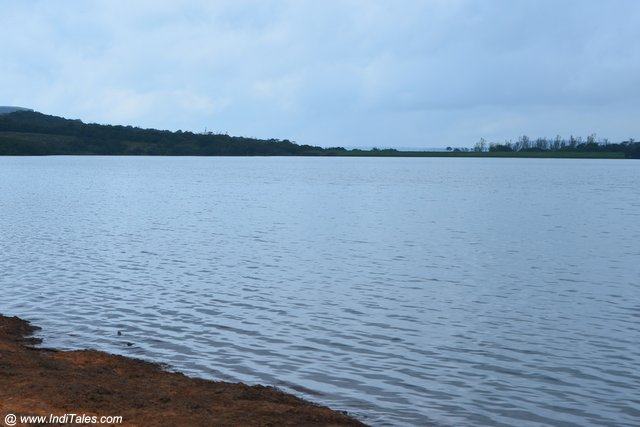 Landscape view of the Kaas lake