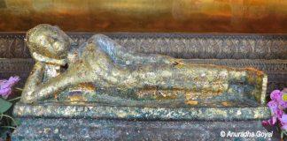 Miniature Reclining Buddha at Wat Pho