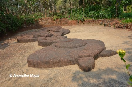 Saint Mira Bai sculpture at Bigfoot Museum, Goa