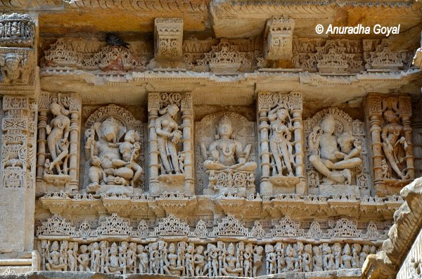 Intricate Carvings on the walls of the monument