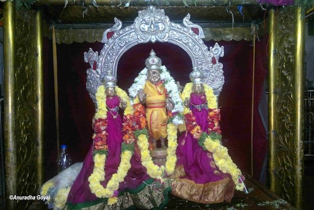 Narsimha Swamy Idol at the temple