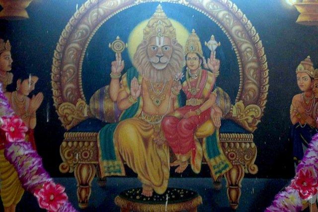 Lord Narsimha Swamy at Yadagirigutta