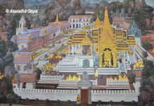 Ramayana Paintings at the Royal Palace, Thailand