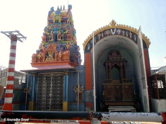 Shri Lakshmi Narsimha Swamy temple at Yadagirigutta, Hyderabad