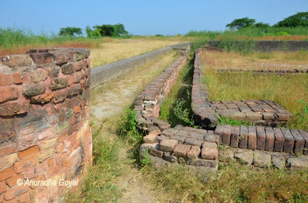 The drainage system of Indus Valley Civilization at Lothal