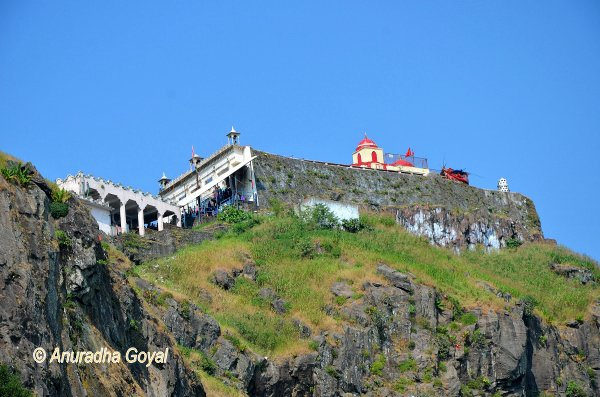 Kalika Mata Temple on top of Pavagadh Hill