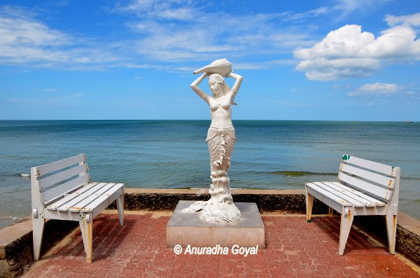 Mermaid at Hua Hin Beach Front
