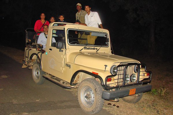 Night Safari at Satpura