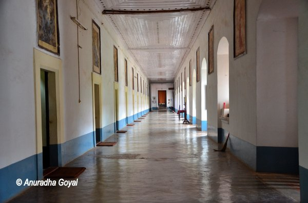 Corridors of Rachol seminary