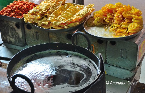 Fafda Jalebi breakfast