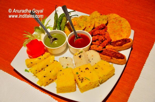 Gujarati platter at WelcomHotel