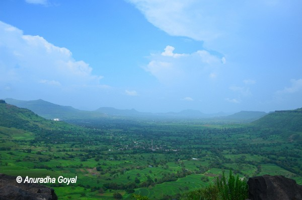 Landscape view of Satara