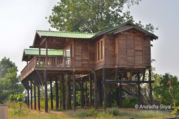Tree House at Denwa Backwater Escape resort