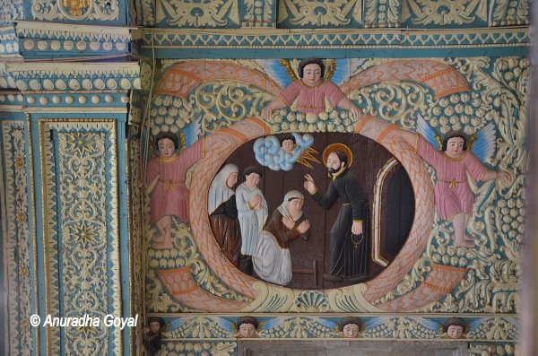 Wall Murals at Rachol Seminary, Goa