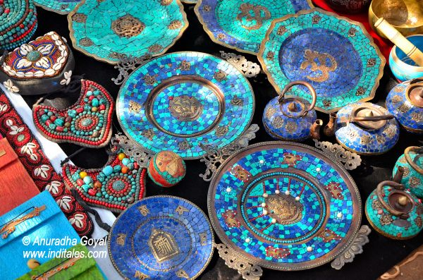 Artifacts at Anjuna Flea Market, Goa
