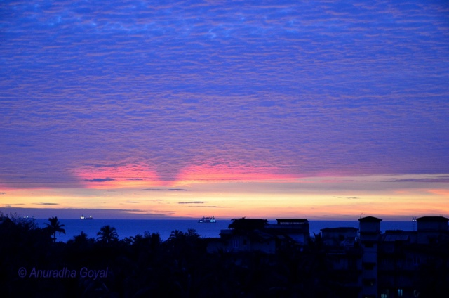 Colors of Goa skies