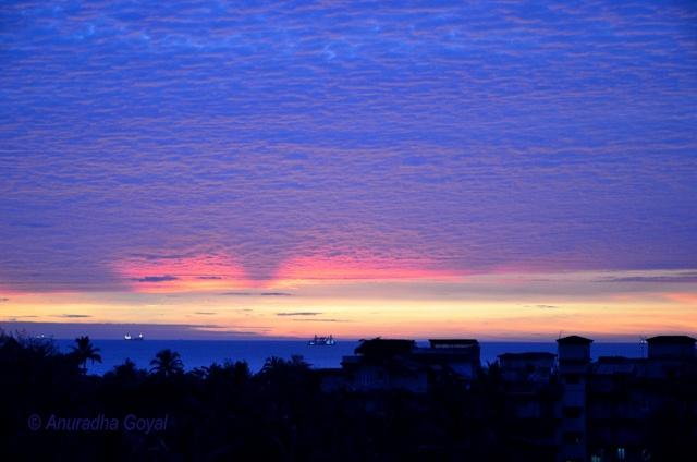 Colors of Goa skies