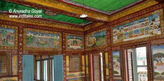 Paintings on the Walls of Tambekar Wada, Vadodara