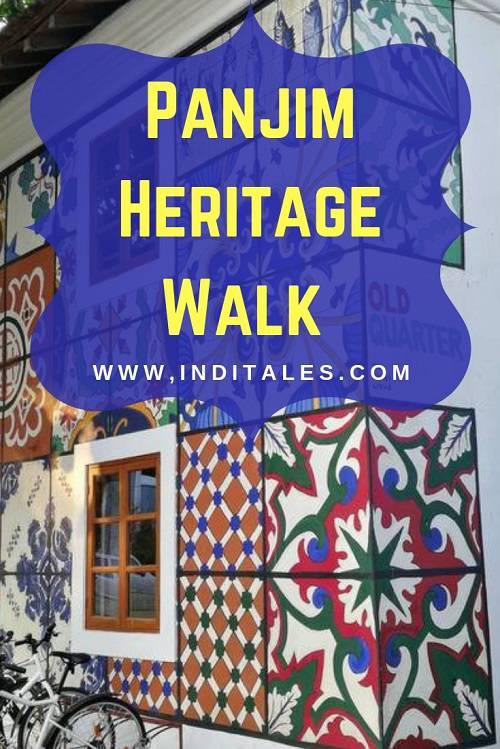 Fontainhas Panjim Heritage Walk