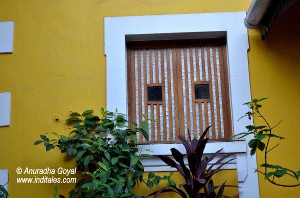 Sea-shell Windows at Fontainhas
