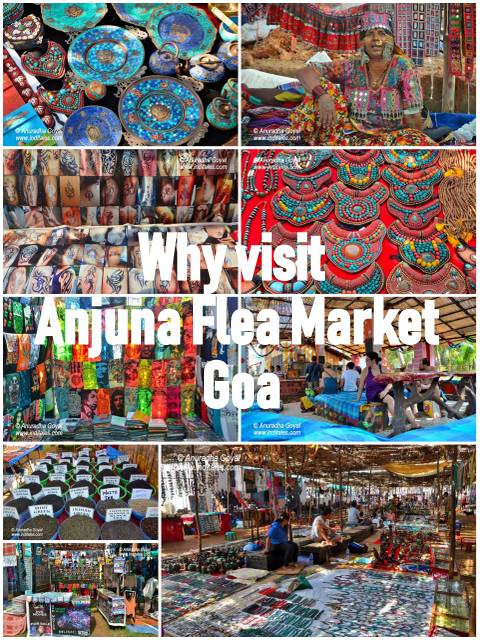 Why visit Anjuna Flea Market, Goa