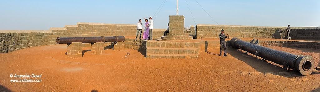 Landscape view atop the Upri Burz, Bijapur