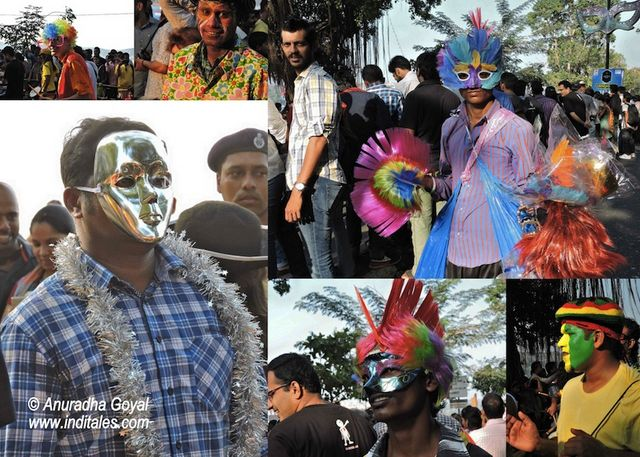 Goa Viva Carnival variety of Faces