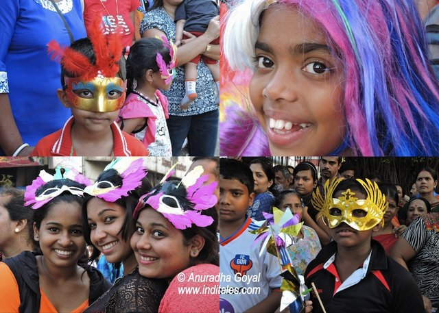 Goa Viva Carnival Happy Faces of Kids