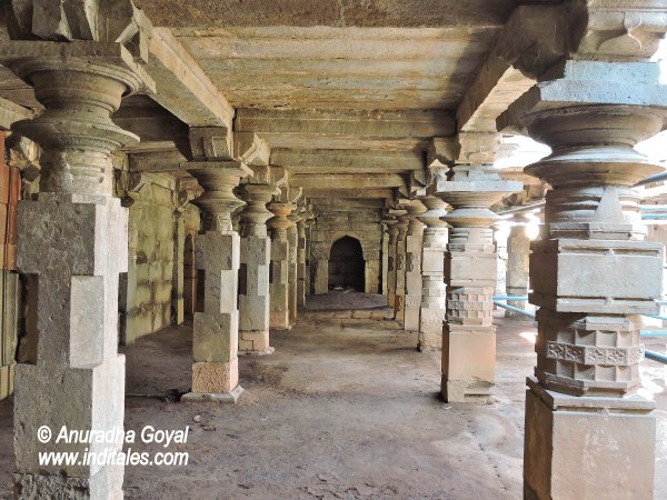 Stone pillars of Panch Pandu, Bijapur