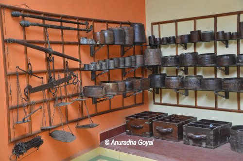 Heritage Weights and Measures at Goa Chitra Museum