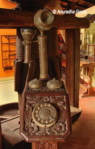 Old Telephone Set at Goa Chitra Museum
