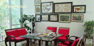 Sit Out at Book Building, Tara Books, Chennai