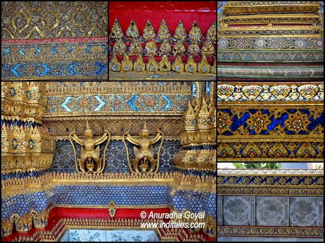 Ornate Sari like borders