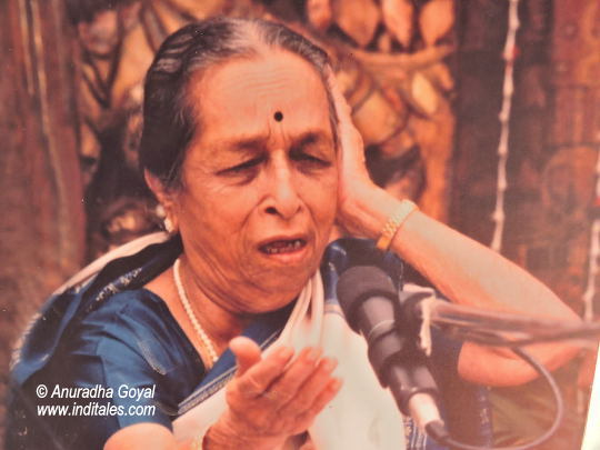 Gangubai Hangal portrait