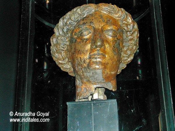 Bust of Goddess Minerva - the ruling deity of Bath