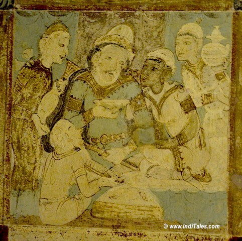 Persians painted at Ajanta