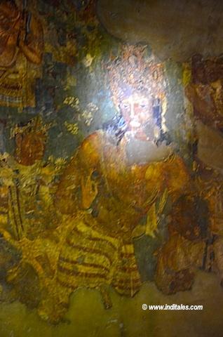 Bodhisattva Vajrapani at Ajanta Cave No 1