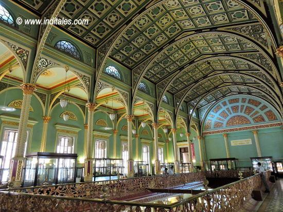 Lovely interiors of Bhau Daji Lad Museum