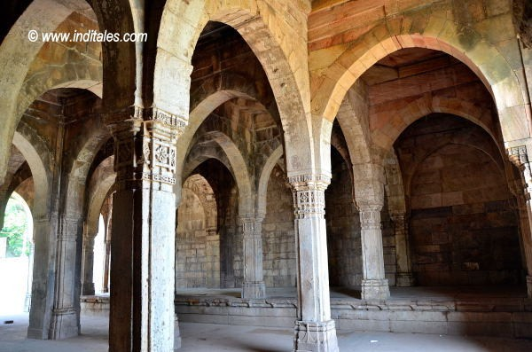 Mandvi or Customs House at Champaner