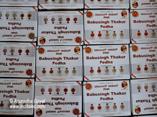 Dharwad Pedha boxes
