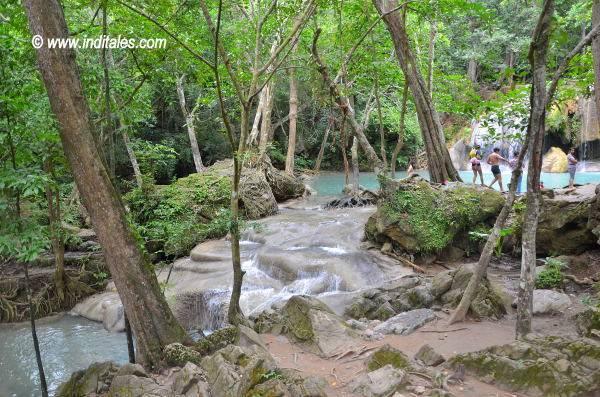 Erawan National Park, Kanchanaburi, Thailand