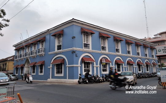 Indian customs and central excise museum or Blue Building, Panaji, Goa