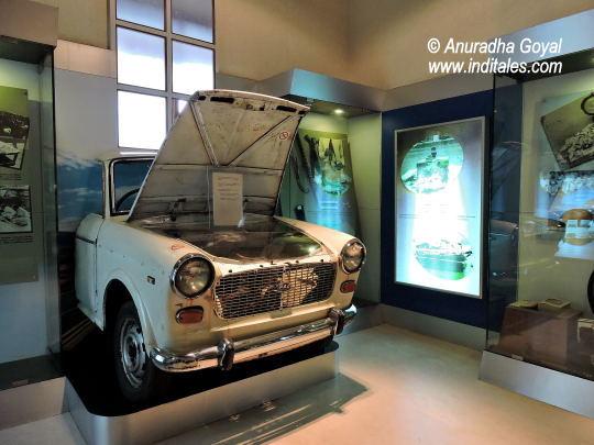 Cars used by smugglers to smuggle Watches Indian customs and central excise museum