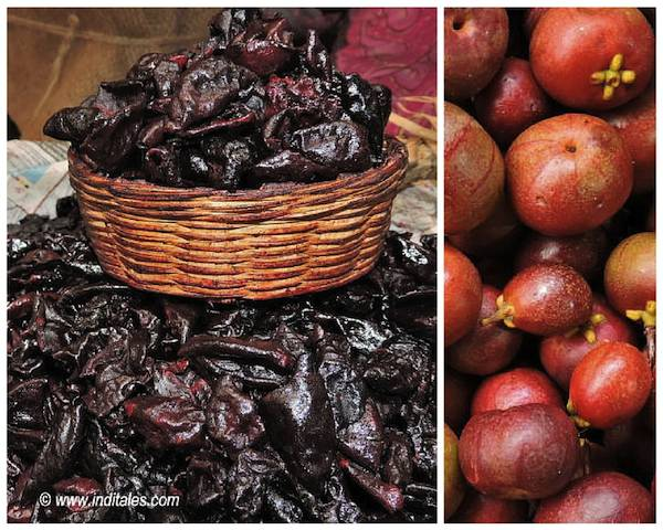 Goa Summer Delights, Kokum - Dried & Fresh - the signature fruit of Goa