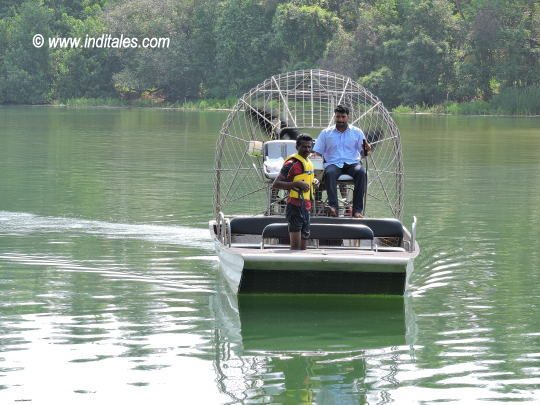 Air Boat for shallow waters by Sai Vishram Beach Resort